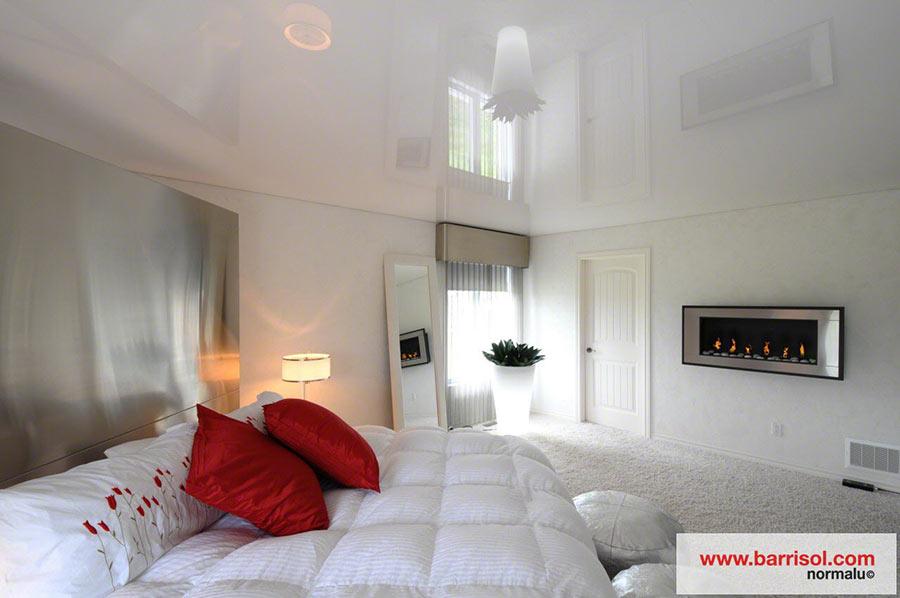 Chambre  Coucher  Le Plafond Tendu Barrisol Dans Votre Chambre
