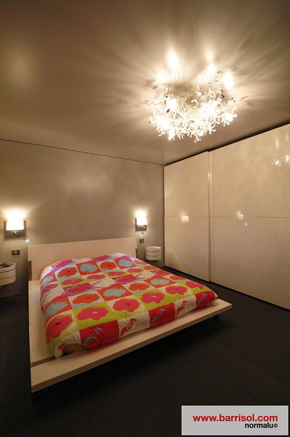 Chambre coucher le plafond tendu barrisol dans votre for Chambre 13 dans les hopitaux