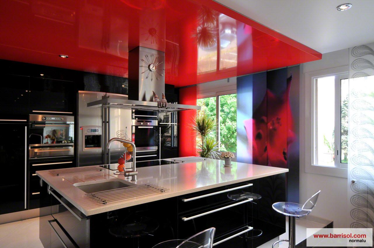 Cuisine le plafond tendu barrisol dans votre cuisine for Cuisine 3d saujon 17