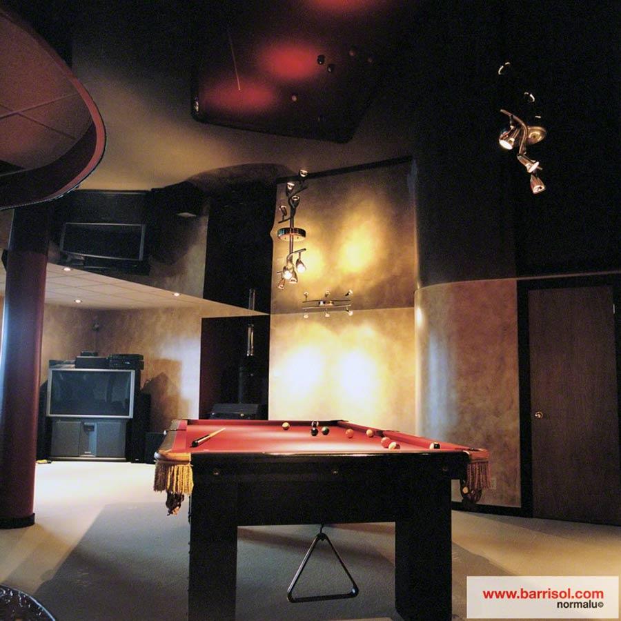 Loisirs : le plafond tendu barrisol dans vos espaces de loisirs